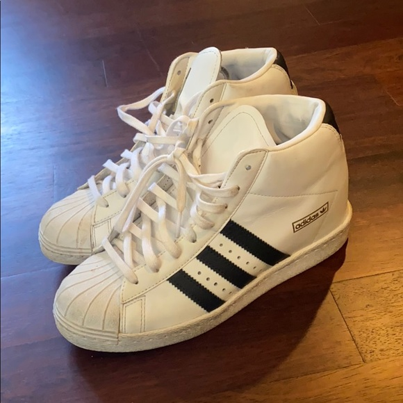 veneno Todo el mundo Milagroso  adidas Shoes | Adidas High Too Platform Sneakers | Poshmark